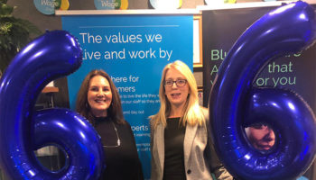 Jany Perry, Director and Lorna, Registered Manager, Bluebird Care Edinburgh and Bluebird Care Glasgow South – Grade 6 cropped