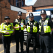 Herkesh Malhi (second left)_special constable