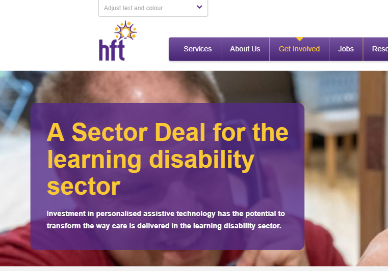 Sector Deal learning disability