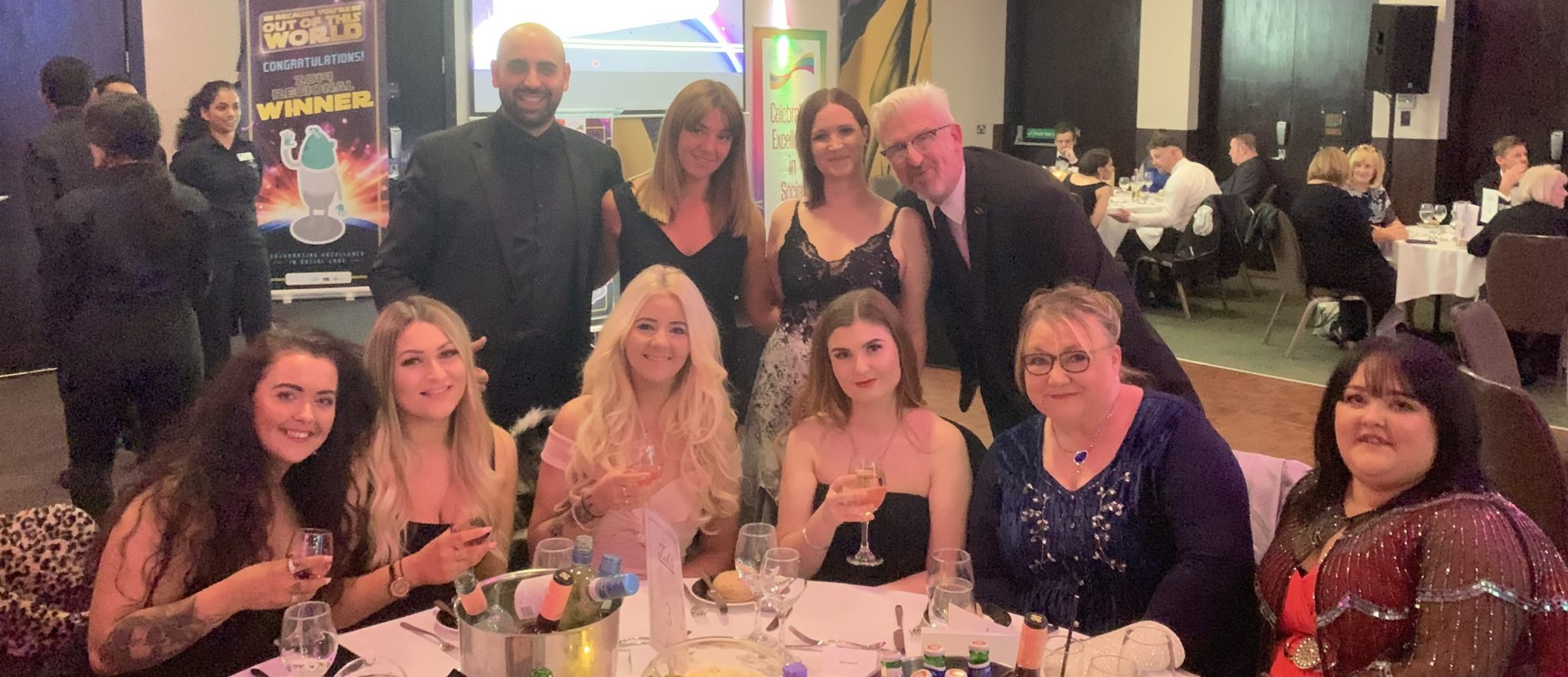Right at Home Cardiff and Newport at Great British Care Awards