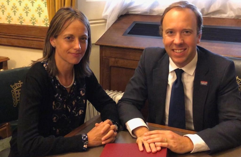 Matt Hancock Helen Whately